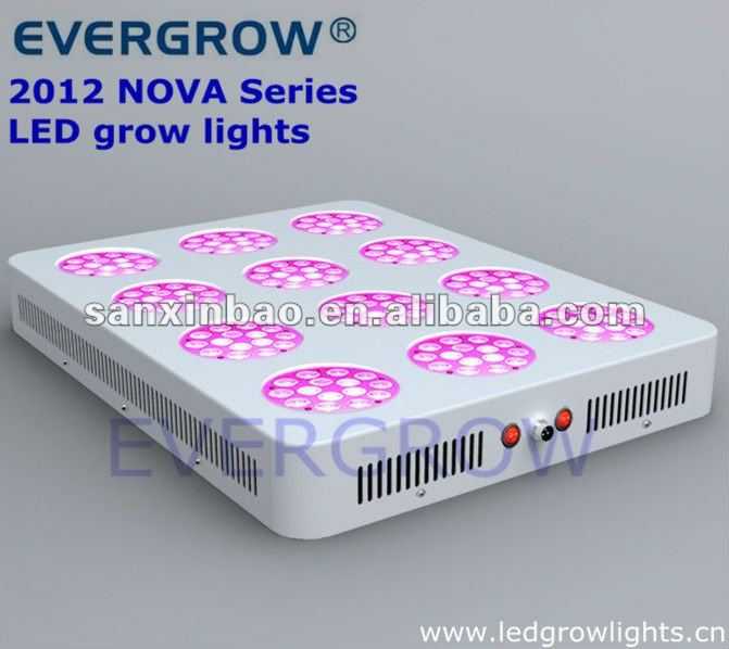2012 simple structure T12 NOVA Series 3x4 two control 24v diy dimmable led aquarium grow lights control