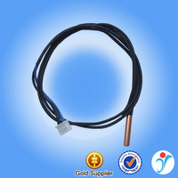 Gold Supplier Conductivity Sensor Analog Output NTC Thermistor For Air Conditioner NTC Temperature Sensor 5K 10K 47K 200K