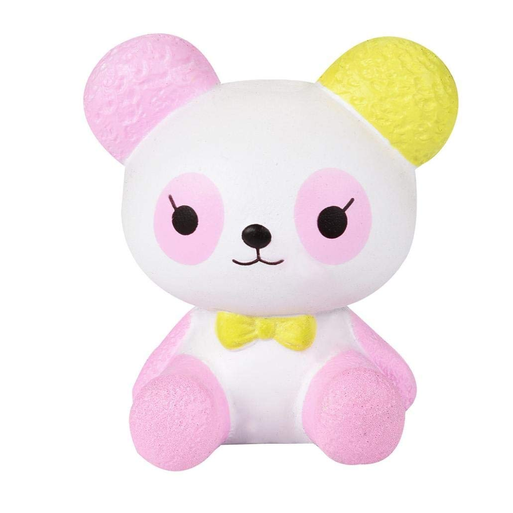Yoyorule Squishy Cartoon Panda Scented Squishy Slow Rising Squeeze Toys Collection Charm (B)