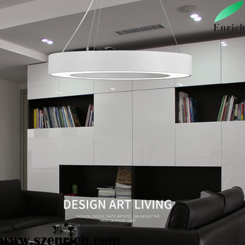 Office Chandelier Led Round Light