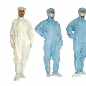 100% polyester lab work coat uniform