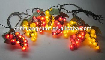 christmas grape shape light with ul certification