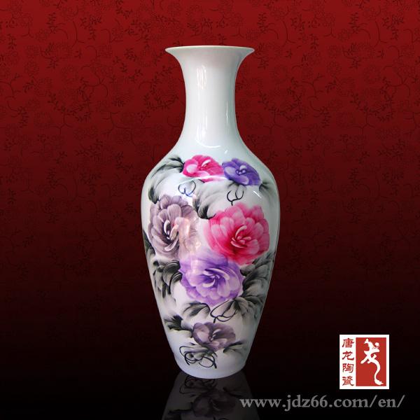 Flower Design Porcelain Vase Famous Ceramic Artists Buy Famous