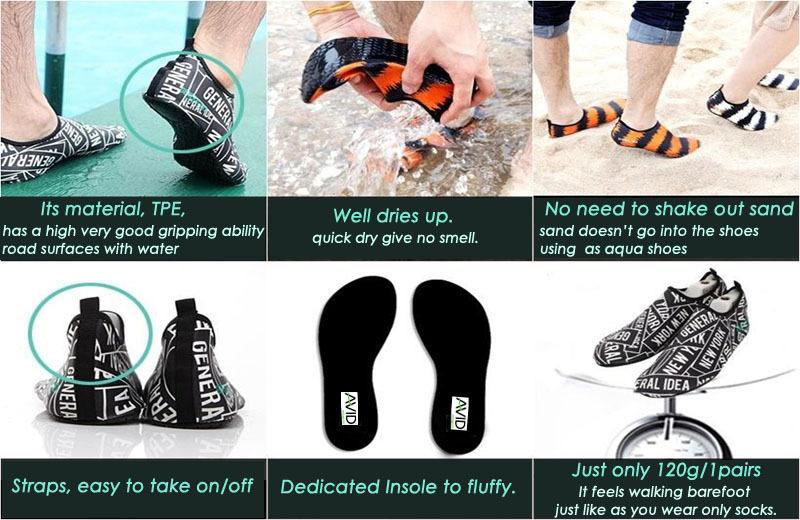Aqua Water Surfboard Skin Shoes Best Ing Uni Casual Yoga Walking Shoe