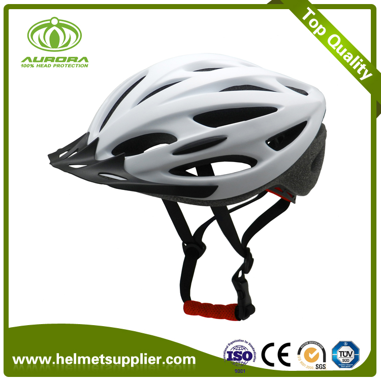 Wholesale European Air ventilation Road Bicycle Helmet/PC in-mold ...