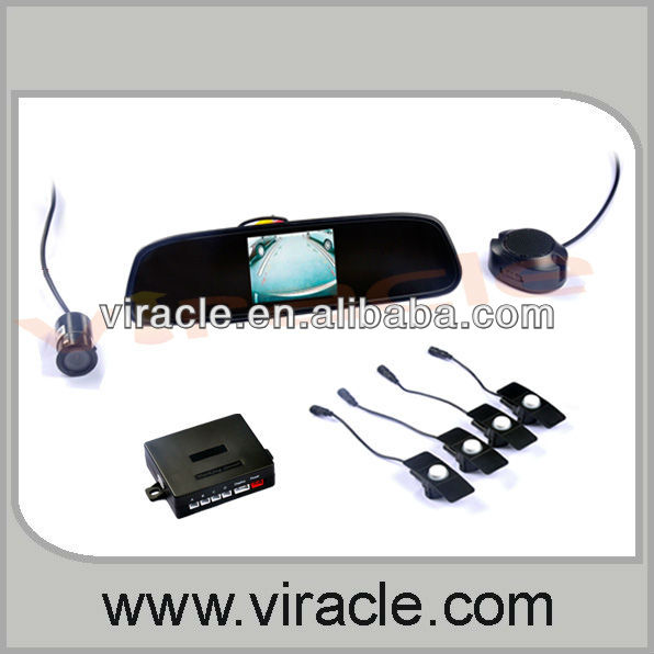 Clear VFD Parking Sensor VP-203 with Rearview Camera