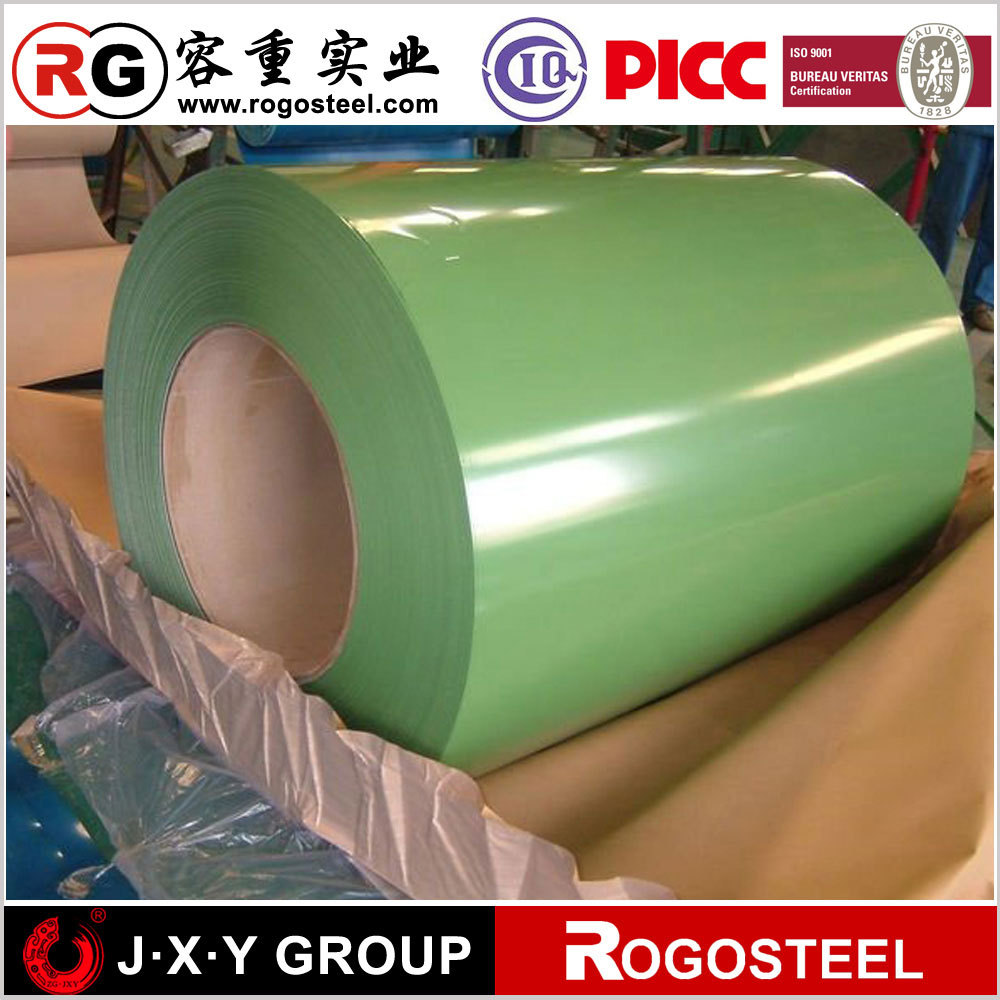 colored coated steel ppgi coil by any color in ral classic K7 K5