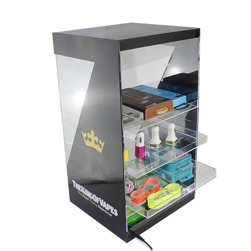 Box Display Shelf Led E Liquid Holder