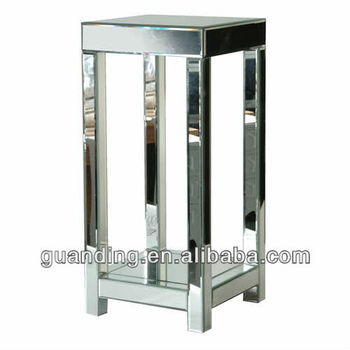 Venetian mirrored tall narrow table buy mirror console for Narrow dressing table