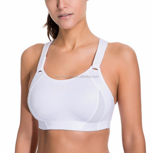 Hot Sexy Yoga Sublimation Printed fitness wear women's plain sport yoga bra