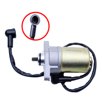 Auto Electric Starter Motor For Scooter Moped GY6 47 49 50 CC TAOTAO SUNL ROKETA Chinese Starter Starting Motor