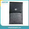 Laser cut high quality felt mobile phone bag