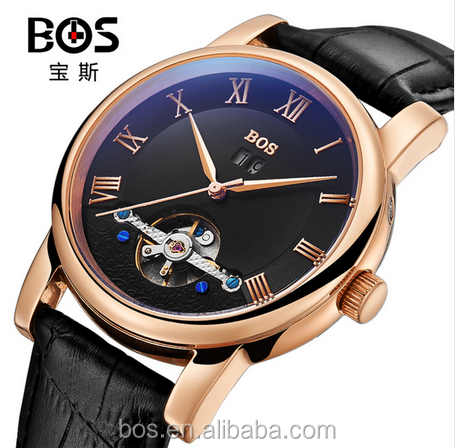 OEM Tourbillon BOS Automatic Watch Relogio Masculino Mechanical Watch
