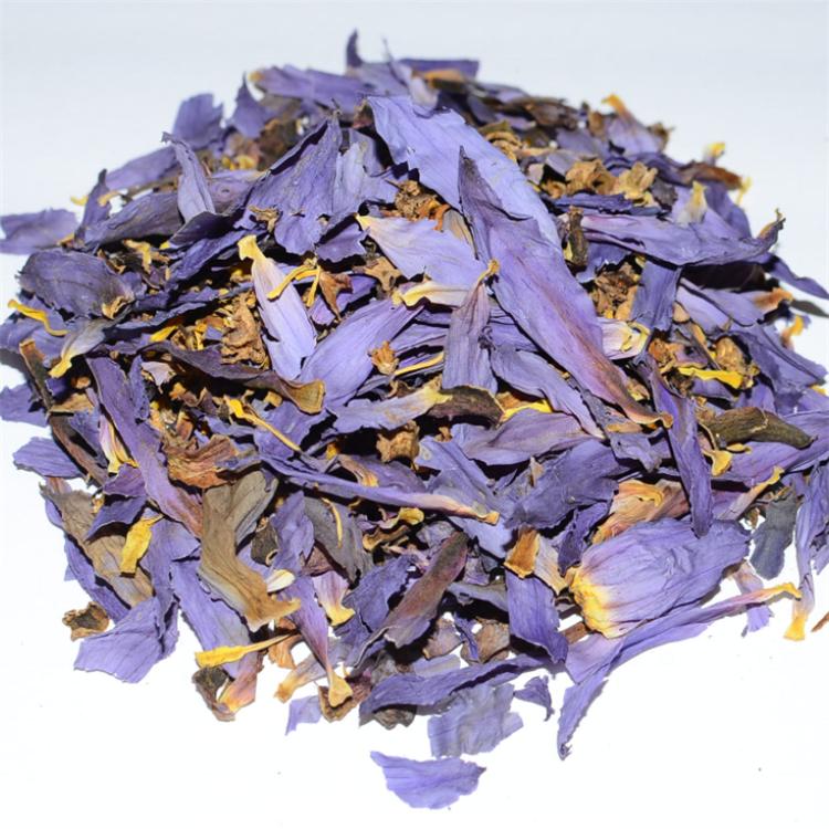 Dried Blue Lotus Flowers Tea Smoke Nymphaea Caerulea Nuciferine Herbal Tea Smoke - 4uTea | 4uTea.com