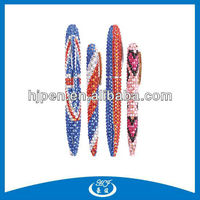 Hot Selling Memorial Limited Edition Mini Bling Pens for Promotion