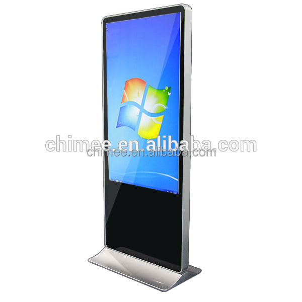 55 inch wifi lcd touchscreen monitor display, android win 7/8/10 touch screen kiosk