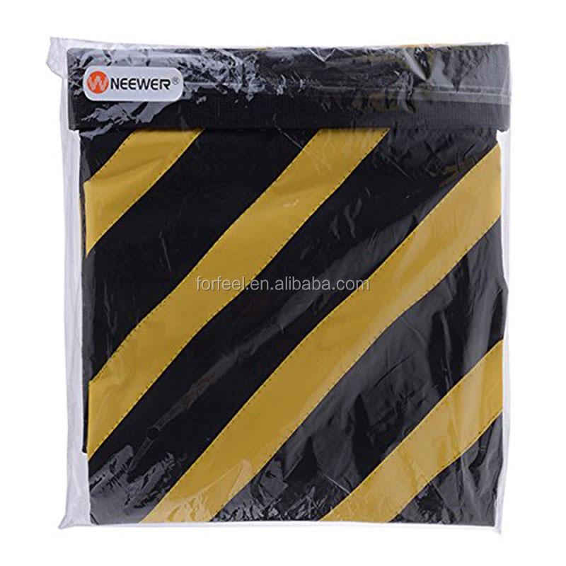 Neewer Black//Orange Heavy Duty Sand Bag Photography Studio Video Stage Film Sandbag Saddlebag for Light Stands Boom Arms Tripods
