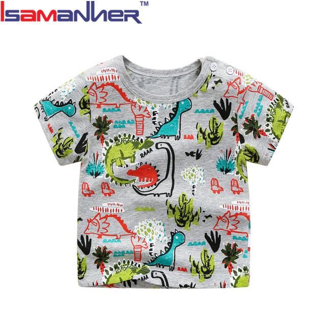 Vendita calda nuovo modello ragazzi di modo stampato maglietta dei bambini