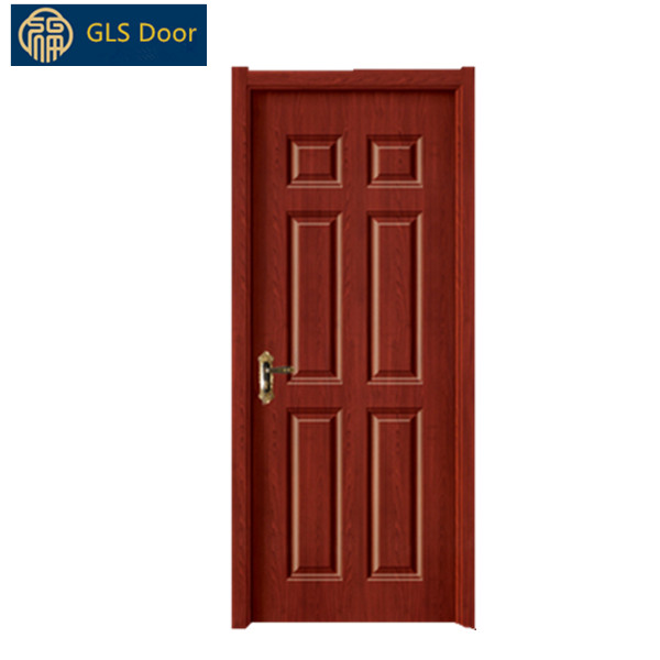 Cheap Wooden Internal Door 6 Panel Interior Mdf Doors With Frame Buy Mdf Pvc Doorwooden Flush Doorsingle Wooden Door Product On Alibabacom