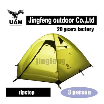 double Layer ripstop luxury family camping tent