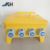 32 Way three phase stackable Portable power distribution box,Yellow Type IP67 Distribution RCD board