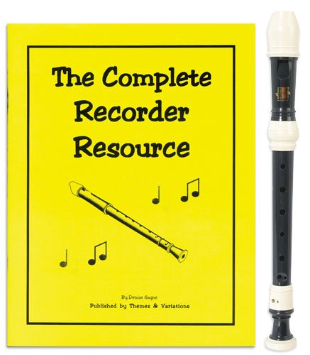 Harmony 3 Piece Recorder Pack with Complete Recorder Resource Kit Vol. 1 by Denise Gagne