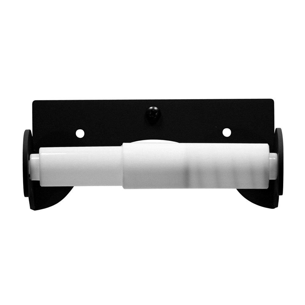 Iron Traditional Style Plain Toilet Roll Tissue Holder - Heavy Duty Metal Toilet Paper Holder, Toilet Tissue Holder, Toilet Paper Dispenser, Toilet Roll Dispenser