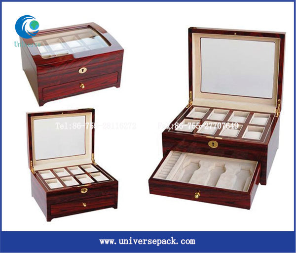 Watches men box With Pillow watch boxes for Men watches