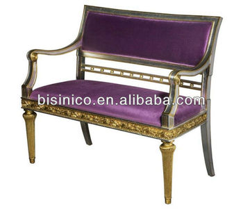 Pleasant Exquisite Noble Fashion Style Victorian Bench Loveseat Sofa Living Room Furniture Elegant Purple Color Buy Antique Style Sofas Bench Victorian Style Pdpeps Interior Chair Design Pdpepsorg