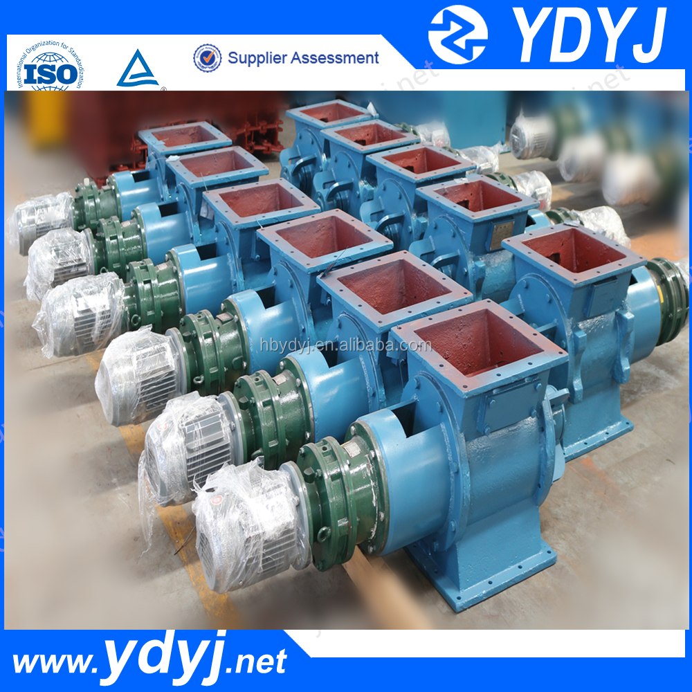 Round or square flange rotary valve used in sugar mill