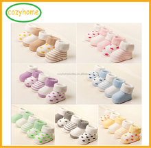 2017 Wholesale top quality cute baby socks Newborn Baby cotton sock 0-3 year old baby winter fashion socks