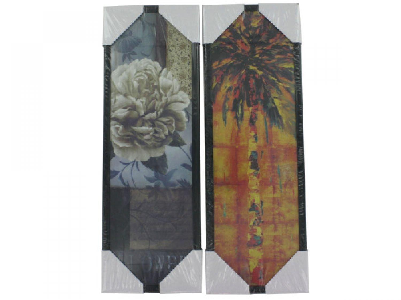 Floral & Palm Framed Artwork - Set of 48, [Home Decor, Wall Decor]