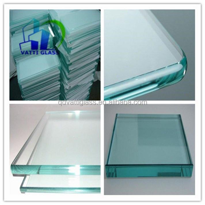 Exterior de pared de vidrio templado vidrio templado - Tabique de vidrio ...