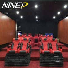Earn Money VR Simulator Gaming Machine 4D 5D 7D cinema with motion chairs