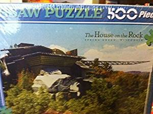 The House on the Rock Spring Green, WI 500 Piece Jigsaw Puzzle