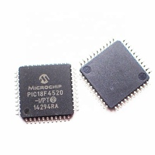 PIC18F4520-I/PT pic 18f4520	 8-Bit 40MHz 32KB (16K x 16) FLASH Microcontroller IC buy electronic components online