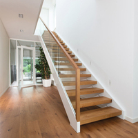 50mm thick wooden tread replacing stairs staircase renovation