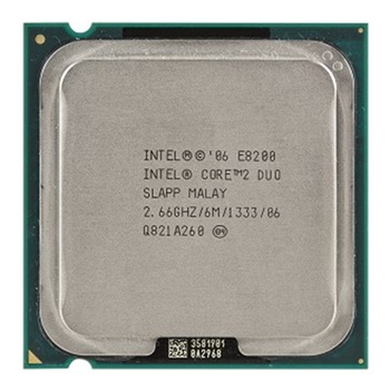 Intel cpu E8200 2.66GHz 6MB SLAPP Core 2 Duo pull clean used cpu processor for desktop
