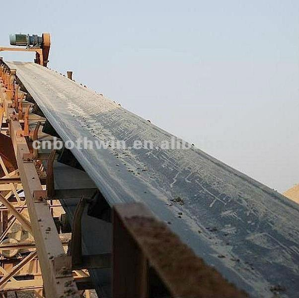 heavy duty fabric conveyor belt