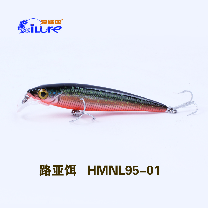 china suppliers artificial fishing lures 95mm 12g salt water lures fishing