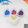 MIni size can type car air freshener with colorful gel/ OEM fragrance air perfume with mosquito repellent