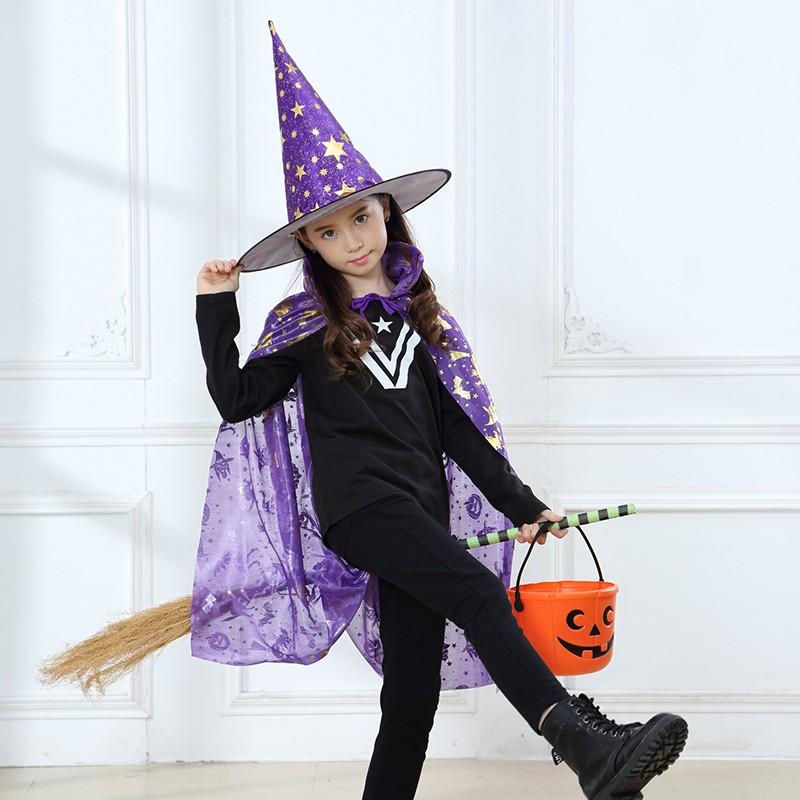 New Design Halloween Cloak Simple Cosplay Costume For Girl ...