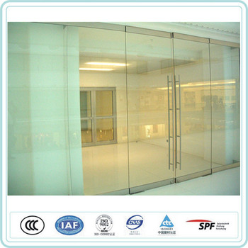 Custom 12mm Unbreakable Glass Door With Pressure Resistance Buy