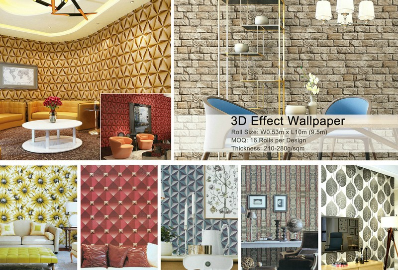 Promotion!! Guangzhou Wholesale Price Water Proof Wallpaper For ...