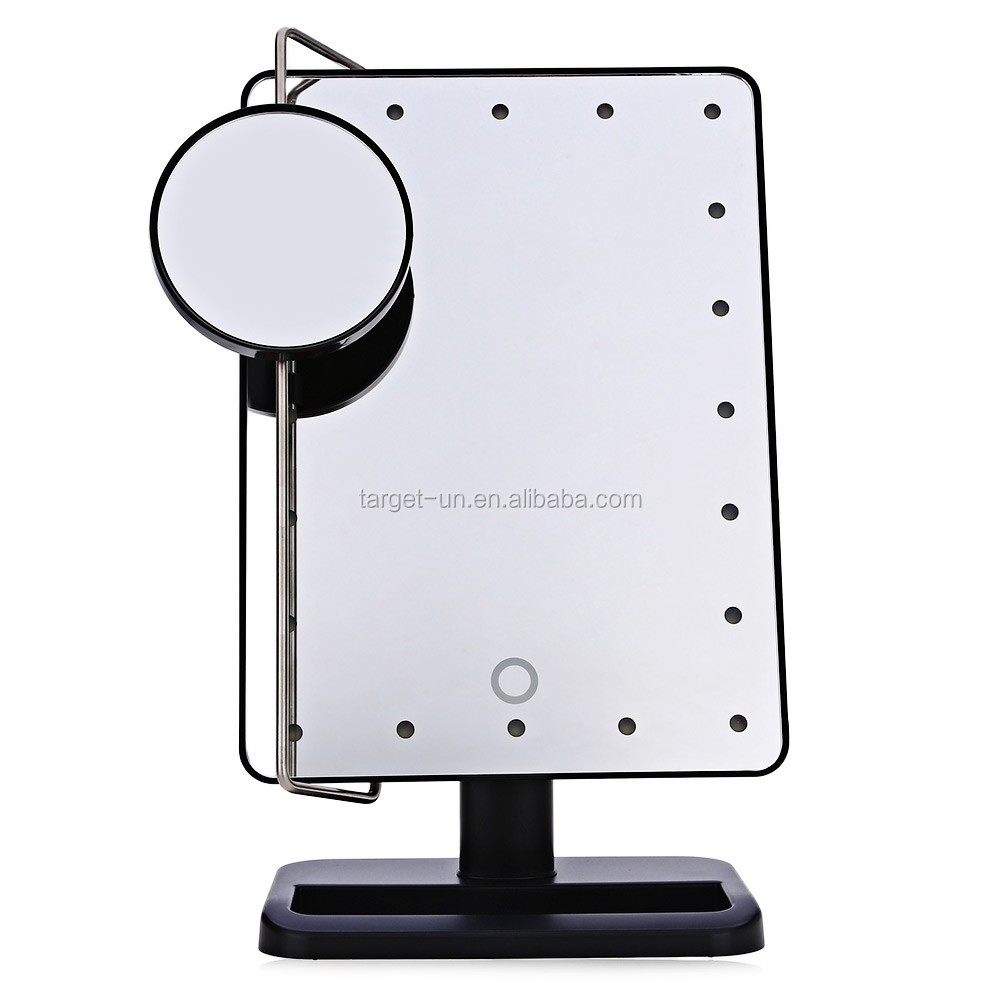 Aa Batteries Operate Led Makeup Mirror 20x Magnifying