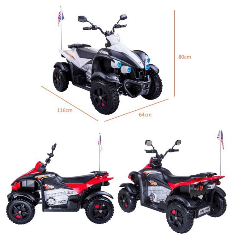 Rr-660268-Best Quality Electric car Big Kids Ride on Car Four Wheel Motorcycle