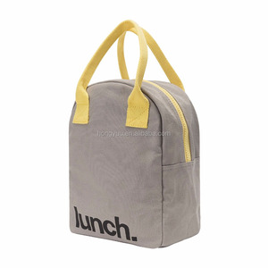 Quality OEM Canvas Picnic Insulated Lunch Bag Thermal Cooler Box Tote Bag