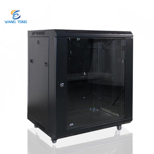 Network Rack Shelf 19 Inch Rack Enclosure Ddf Digital Distribution Frame Server Data Network Cabinet 9u Rack