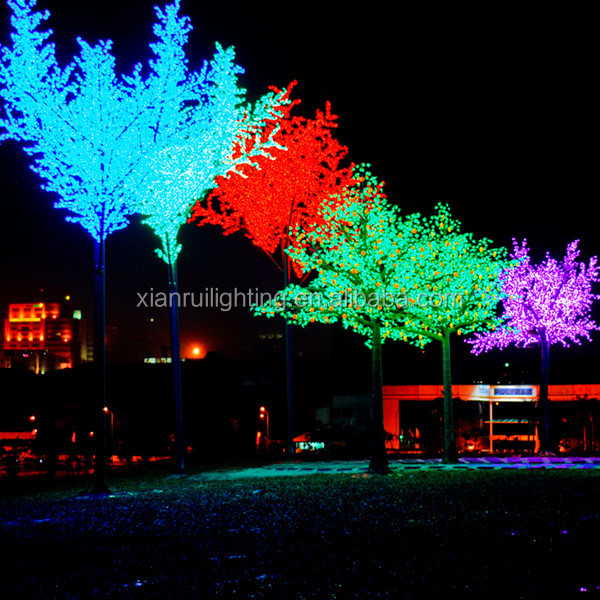 High quality Holiday decor Beautiful cherry blossom led christmas light