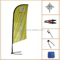 fiberglass telescopic Portable Flagpole